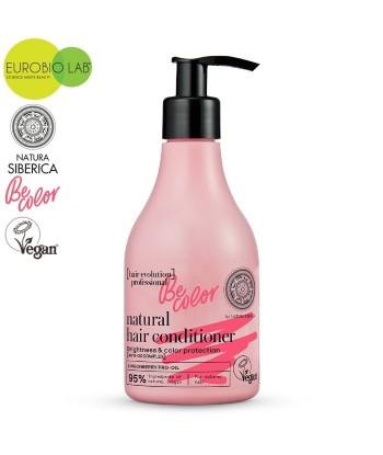 Naturalna, wegańska odżywka do włosów farbowanych Be Color Blask i Ochrona koloru, 245ml Hair Evolution