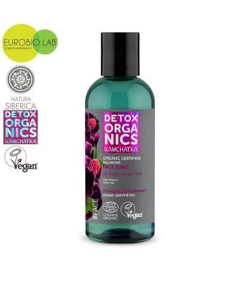 Organiczny, oczyszczający płyn micelarny do twarzy, 170ml Detox Organics Kamchatka