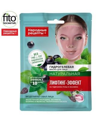 Hydrożelowa maska do twarzy Lifting-efekt 38g Narodowe Recepty, Fitokosmetik