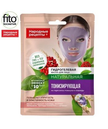 Hydrożelowa maska do twarzy Tonizująca 38g Narodowe Recepty, Fitokosmetik