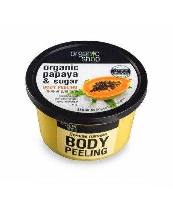 Scrub do ciała - Soczysta papaja