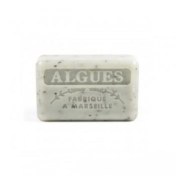 Mydło marsylskie z masłem shea - Algi morskie