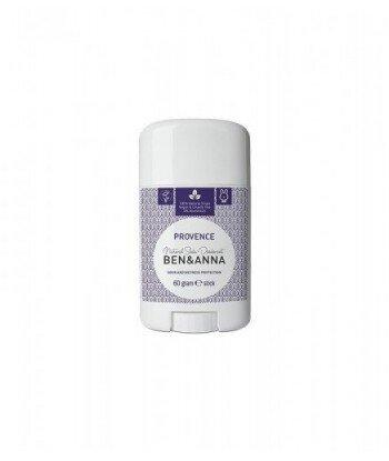 BEN&ANNA Naturalny Dezodorant na bazie Sody PROVENCE (sztyft plastikowy) 0% Aluminium 60g