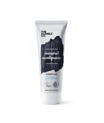 Humble Brush Naturalna czarna pasta do zębów z AKTYWNYM WĘGLEM i fluorem 75ml