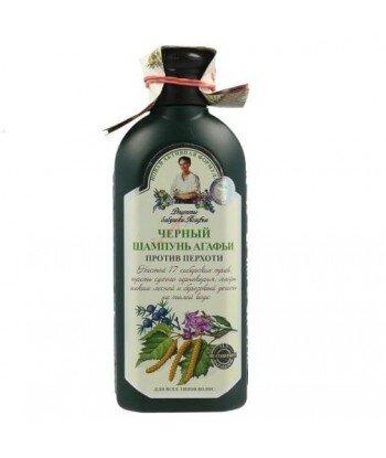 Babuszka Agafia Czarny ziołowy szampon przeciwłupieżowy 350ml