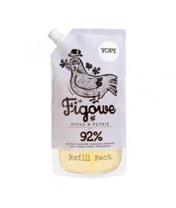 YOPE Mydło w płynie FIGA uzupełnienie 500 ml