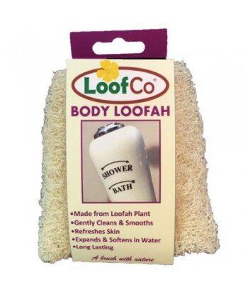 LoofCo Myjka do ciała z naturalnej rośliny loofah