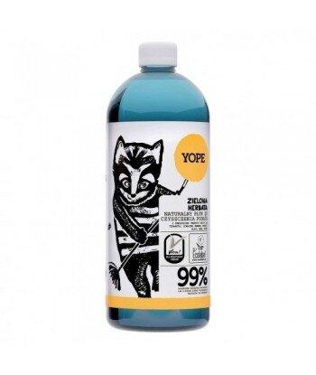 YOPE Naturalny płyn do czyszczenia podłóg ZIELONA HERBATA 1 L