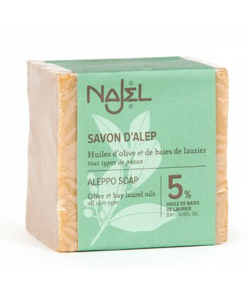 Mydło Aleppo z 5% olejku laurowego