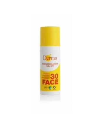 Derma Sun Krem słoneczny do twarzy SPF 30 hipoalergiczny certyfikowany 50ml