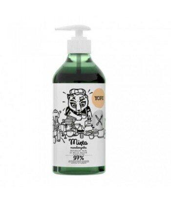YOPE Naturalny płyn do mycia naczyń MIĘTA, MANDARYNKA 750 ml