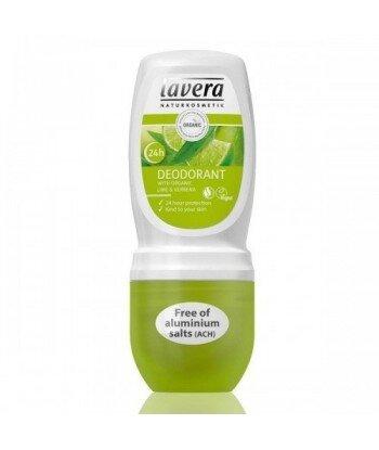 LAVERA Dezodorant roll-on LIME SENSATION z wyciągiem z bio-limonki verbena