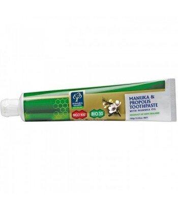 Manuka MGO™ Pasta do zębów z Miodem 400+ Propolisem BIO 30™ i Olejkiem Manuka(100 ml)