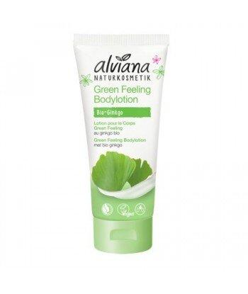 ALVIANA Balsam do ciała Green Feeling z Bio ekstraktem miłorzębu 200ml