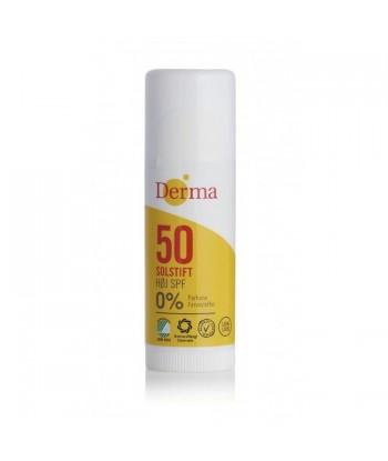 Derma Sun Sztyft słoneczny SPF 50 hipoalergiczny certyfikowany 15ml