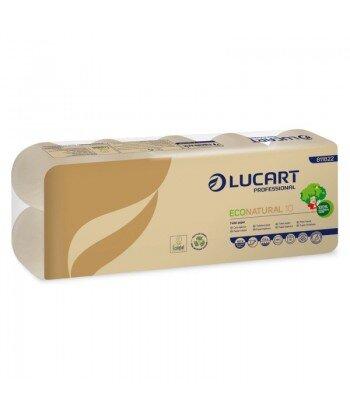 LUCART ECONATURAL Papier Toaletowy z recyklingu 190 listków 10szt
