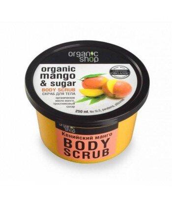 Scrub do ciała - Kenijskie mango