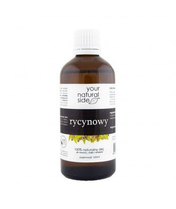 YOUR NATURAL SIDE Olej Rycynowy Nierafinowany Organic 100ml