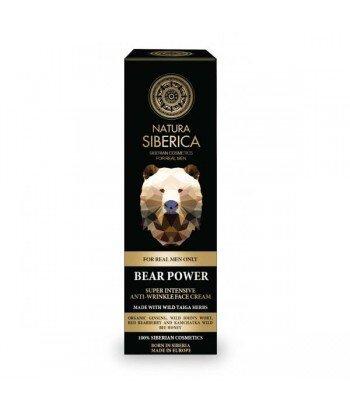 Krem przeciwzmarszczkowy - Siła Niedźwiedzia