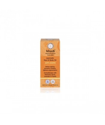 KHADI Ajurwedyjski olejek przeciwzmarszczkowy 10ml
