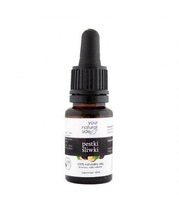 YOUR NATURAL SIDE Olej z Pestek Śliwki nierafinowany 10 ml