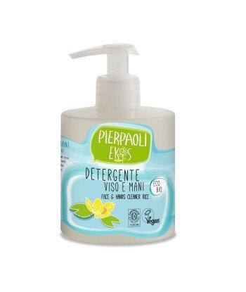 Pierpaoli Ekos Personal Care Nawilżający odżywczy płyn do mycia twarzy i rąk z organicznym ekstraktem z RYŻU 350ml