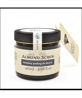 Almond Scrub - Delikatny peeling do twarzy