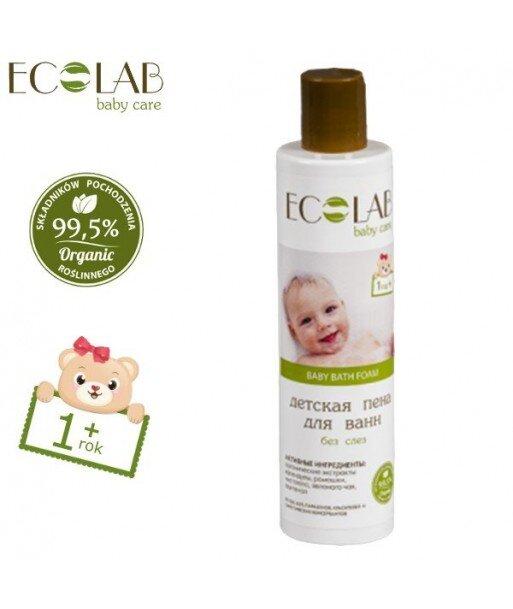 Płyn do kąpieli dla dzieci od 1+ bez łez (bez silikonów, parabenów, barwników, syntetycznych konserwantów), 250ml - EC Lab Baby