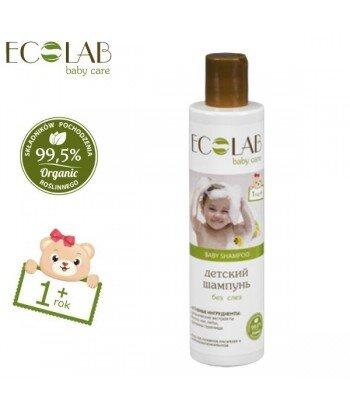 Szampon do włosów dla dzieci od 1+ bez łez (bez silikonów, parabenów, barwników, syntetycznych konserwantów), 250ml - EC Lab Bab