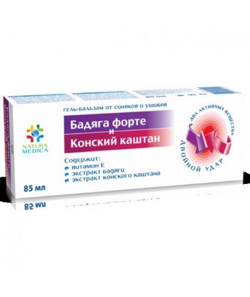 Żel balsam kosmetyczny z ekstraktem z Badjagi i kasztanowca , 85 ml - Twins Tec