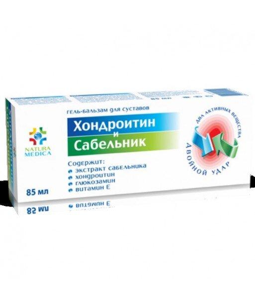 Żel balsam kosmetyczny Chondroityna i Sabelnik, 85 ml - Twins Tec