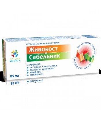 Żel balsam kosmetyczny Żywokost i Sabelnik, 85 ml - Twins Tec