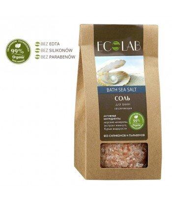 Sól Do Kąpieli nawilżająca- ekstrakt morszczynu, kompleks morskich minerałów, ekstrakt perły, olej z kwiatów lotosu, 400g