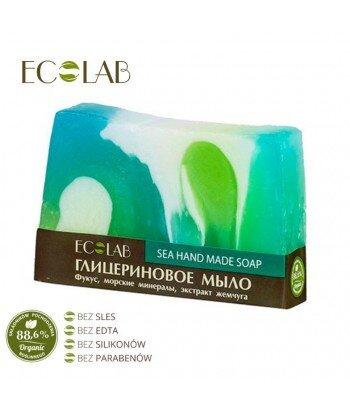 Naturalne mydło glicerynowe - ręcznie robione - Morskie, 130g