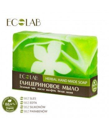 Naturalne mydło glicerynowe - ręcznie robione - Ziołowe, 130g