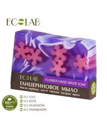 Naturalne mydło glicerynowe - ręcznie robione - Kwiatowe, 130g