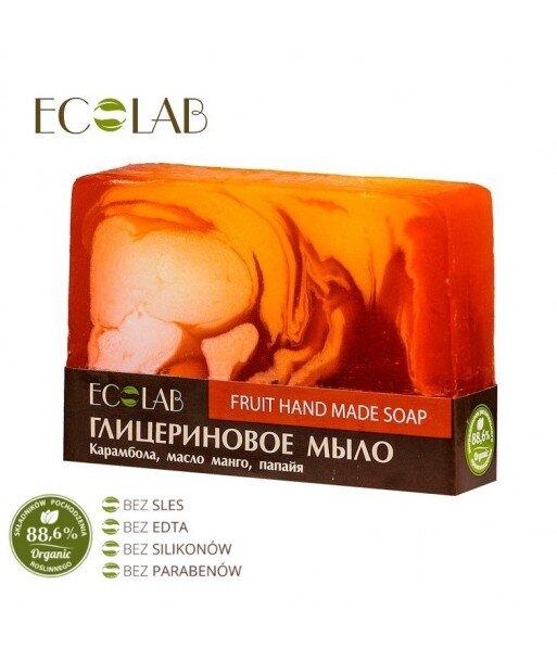 Naturalne mydło glicerynowe - ręcznie robione - Owocowe, 130g