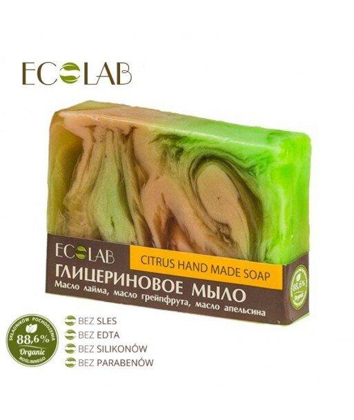 Naturalne mydło glicerynowe - ręcznie robione - Cytrusowe, 130g