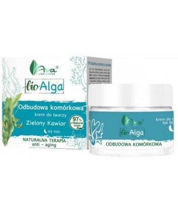 Bio Alga Krem na noc odbudowa komórkowa 50 ml - Ava