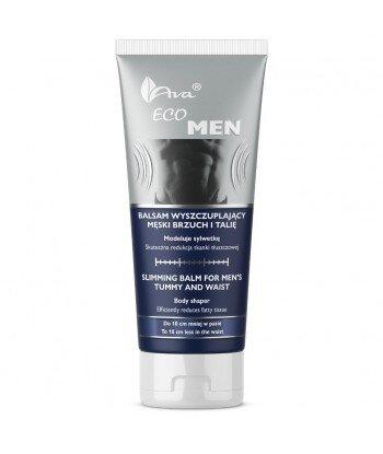 Eco Men balsam wyszczuplający męski brzuch i talię 200ml - AVA