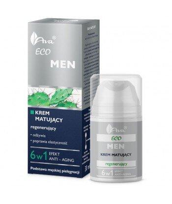 Eco Men krem matujący regenerujący dla mężczyzn 50ml - AVA