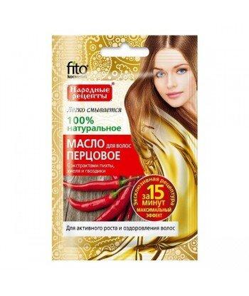 Olejek do włosów PIEPRZOWY - stymuluje aktywny wzrost włosów, 20ml