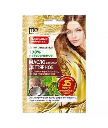 Olejek do włosów DZIEGCIOWY - stymulator wzrostu włosów, przeciwłupieżowy, 20ml