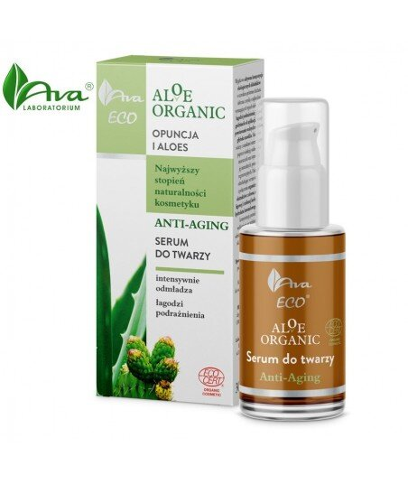 ALOE ORGANIC Serum do twarzy anti-aging 30ml - AVA