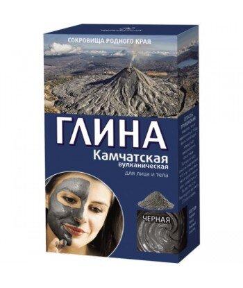 Czarna wulkaniczna glinka Kamczacka 100% naturalna - 100g