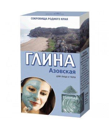 Azowska Glinka Błękitna Tonizująca - 100% naturalna - 100g