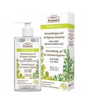 Pharma Care Normalizujący żel do higieny intymnej Kora Dębu, Drzewo Herbaciane
