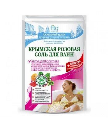 Sól do kąpieli krymska różowa, antycellulitowa 500 g