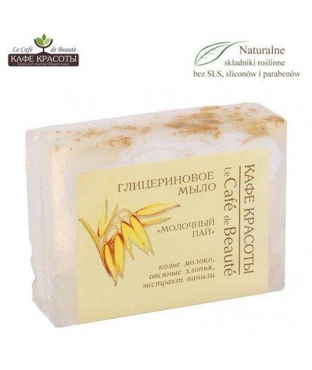 Mydło glicerynowe - ręcznie robione - Mleczne z kozim mlekiem, 100g