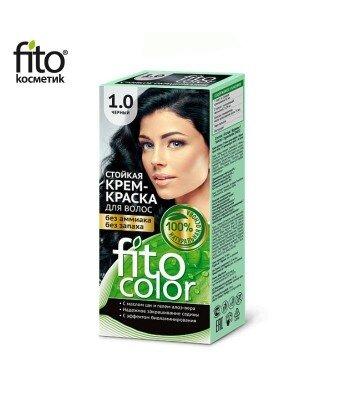 Farba do włosów 1,0 CZARNA - FITO COLOR